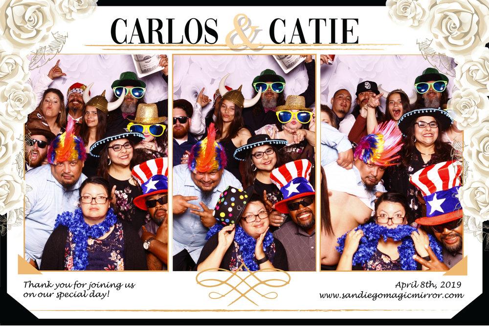 San Diego Magic Mirror Photobooth Wedding at the BRICK, San Diego, CA 2019