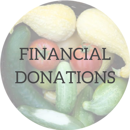 Backyard GardenShare - Financial Donations