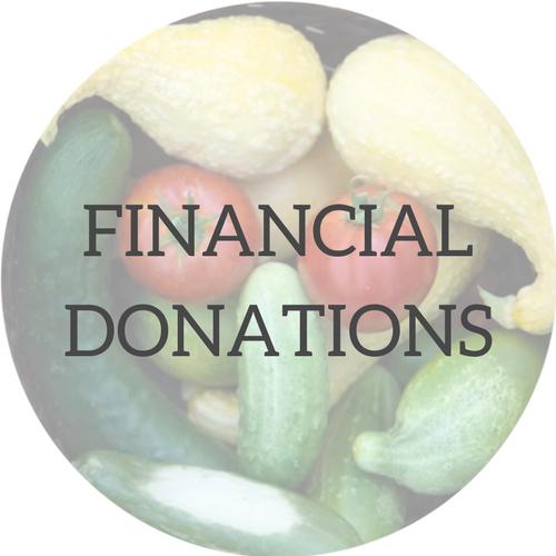 Backyard GardenShare - Financial Donations