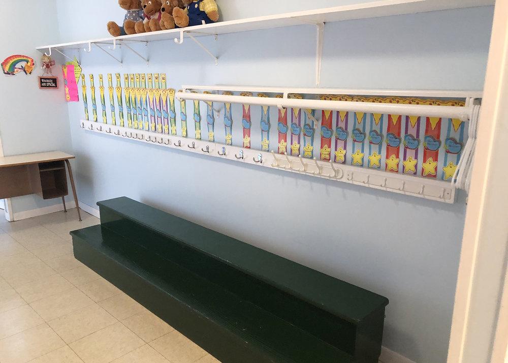 Children's Hooks & Shelves