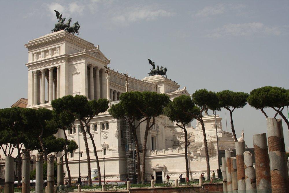 "The ""Wedding Cake"" in Rome"