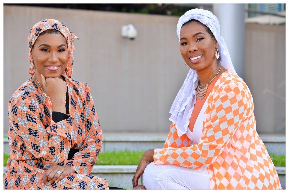 The Muslim Mix founders - Khadijah & Aseelah Rashid