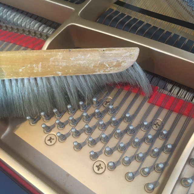 Interior Cleaning - Our interior cleaning service is very thorough: we remove the action, the keys, and clean all accessible parts, including the action cavity, the cast-iron plate, the keybed, the mechanical action and even underneath a grand piano's strings. Make your piano look new again!Uprights: $145 plus HST | Grands: $160 plus HST