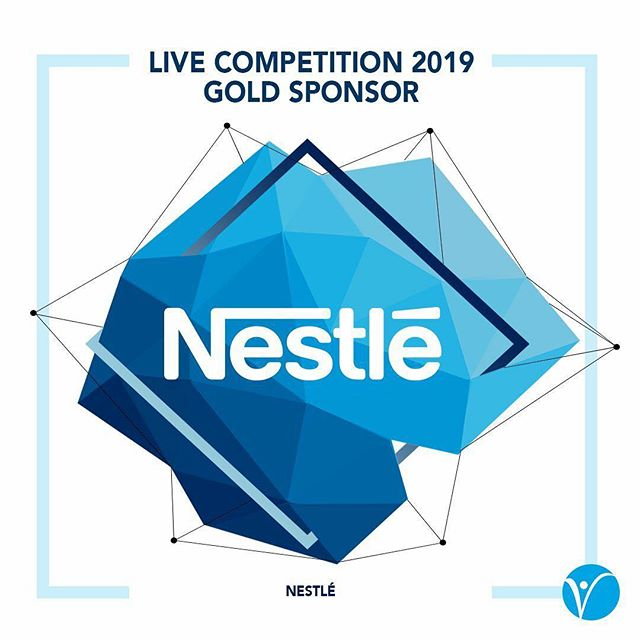 We are pleased to announce that Nestlé is LIVE Competition 2019's Gold Sponsor! Nestlé will be sponsoring this year's Corporate Connections networking event – Around the World with Nestlé.  Register for LIVE Competition 2019 now! www.live-competition.org.