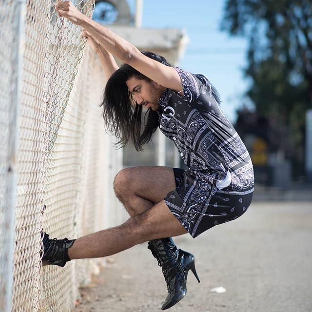 Teaching Bollywood Heels - Thursday March 14th & 21st 8-10pm @westcoastdancethtr  Come dance with me! ♡♡♡ PC:@photogoddess  #bollywoodheels #dance #class #losangeles #heels #fusion #movement #hair #amitpatel #photoshoot #dancer #dancelife #loveislove #genderfluid #style #fbf #romper #getonfleek @getonfleek