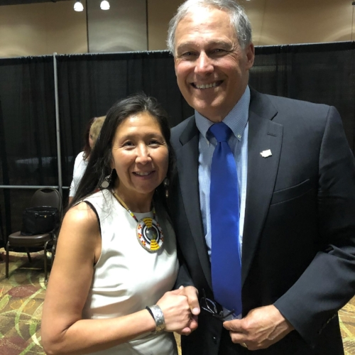 Governor Jay Inslee Endorses Debra Lekanoff - September 14, 2018