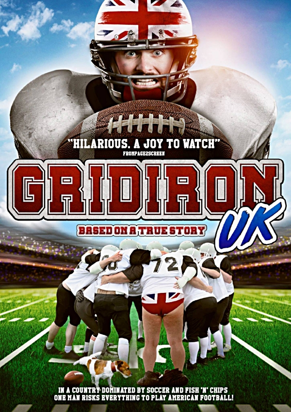 Gridiron UK                     First comedy role.                               Role: Laddo