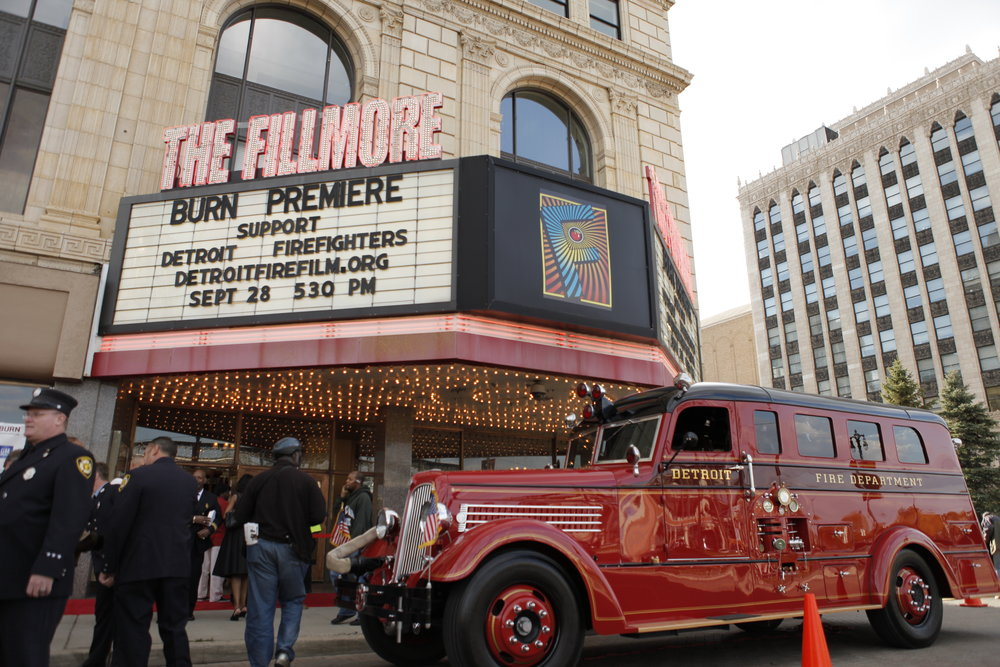 Fillmore Theater Detroit BURN Premier