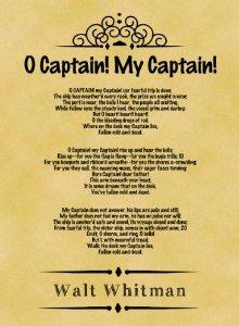 Source: http://www.amazon.com/Parchment-Poster-Classic-Whitman-Captain/dp/B00FV10L52