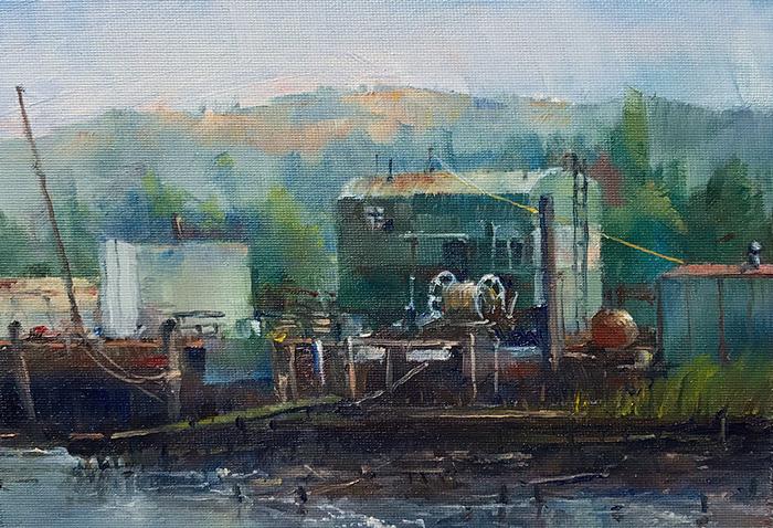 Dock in Benicia
