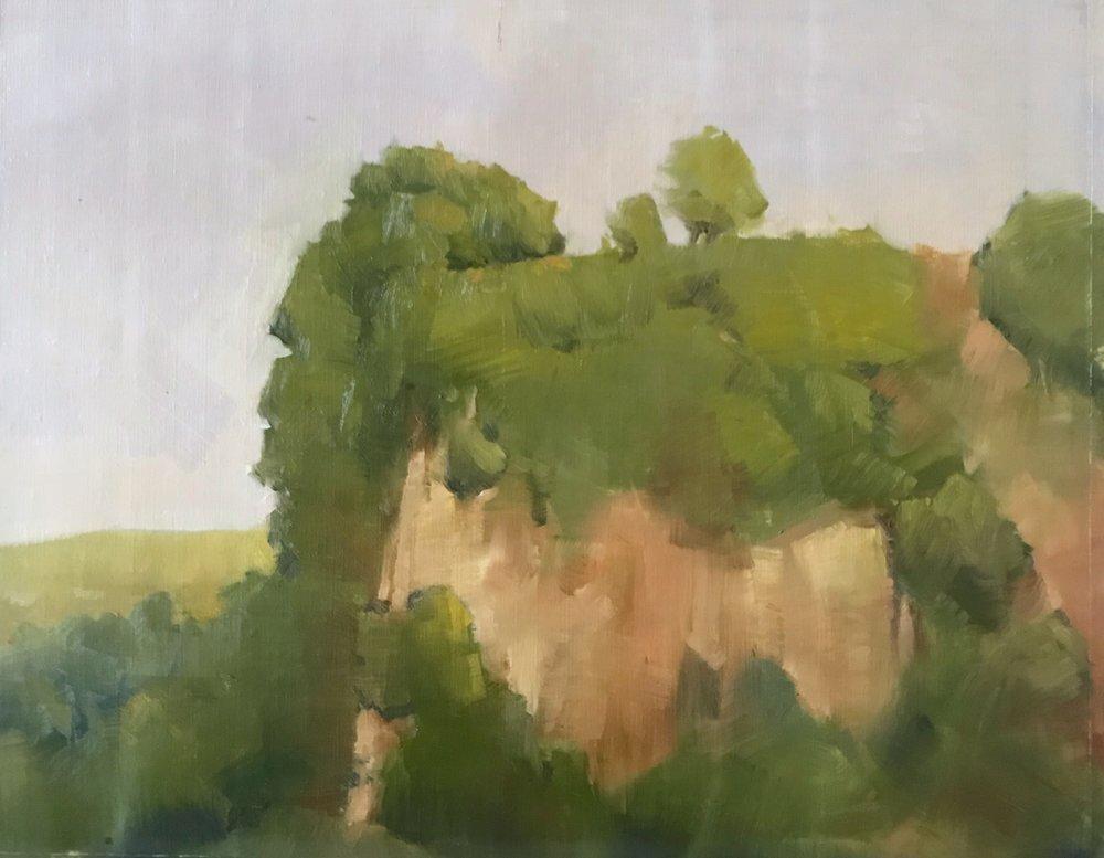 Cliff in Civita Castellana