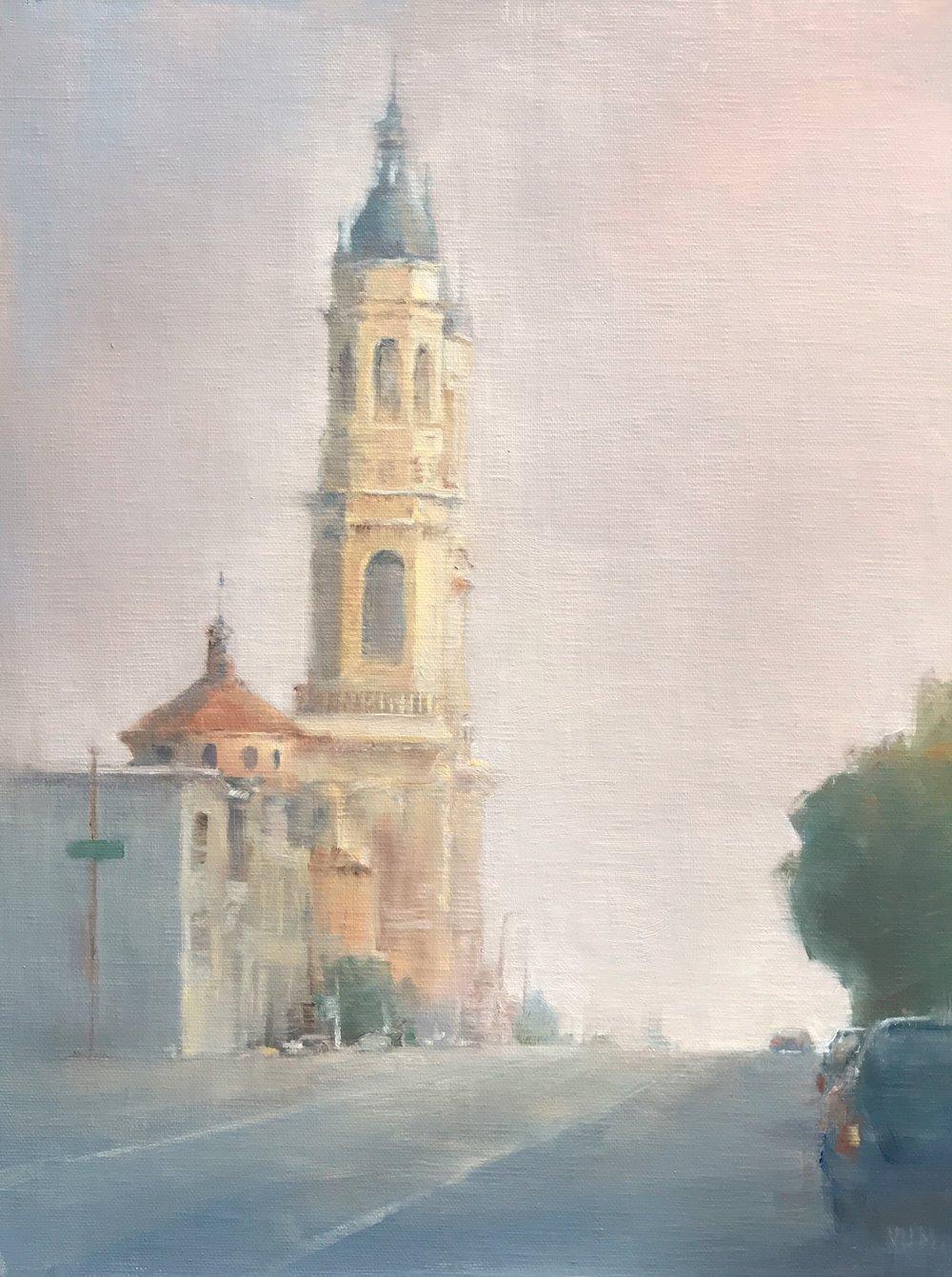 St. Ignatious in the Haze
