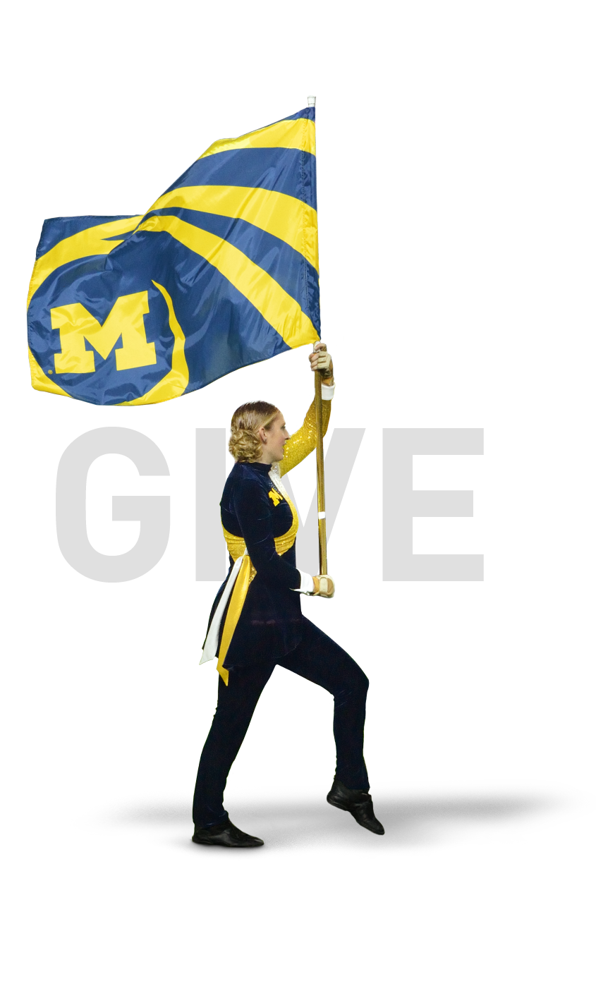 GIVE - The Elbel Club is dedicated to the ongoing improvement and strengthening of the Michigan Marching & Athletic Bands. Its members are friends, alumni and advocates of the University who recognize the value of the Marching Band experience and are essential to the program's success.