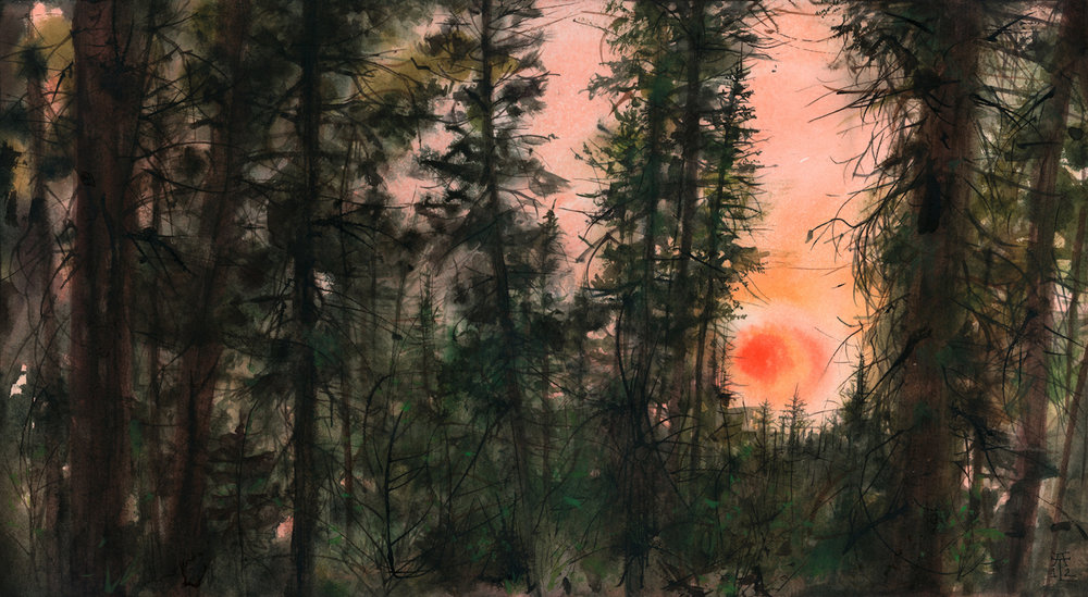 Paintings: In Forests