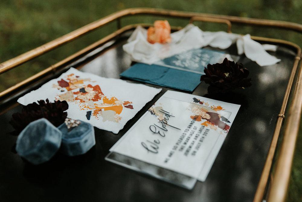Intimate Farmyard Elopement // Styled Shoot - Bexley Wedding Stationery