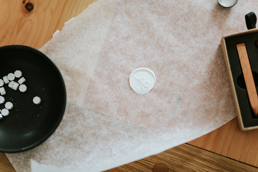 How to create a wax seal // wax seal stamp - bexley design co