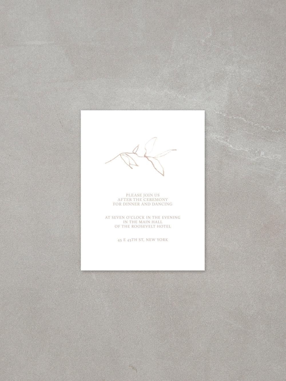 Elysian // Details Card in sandstone