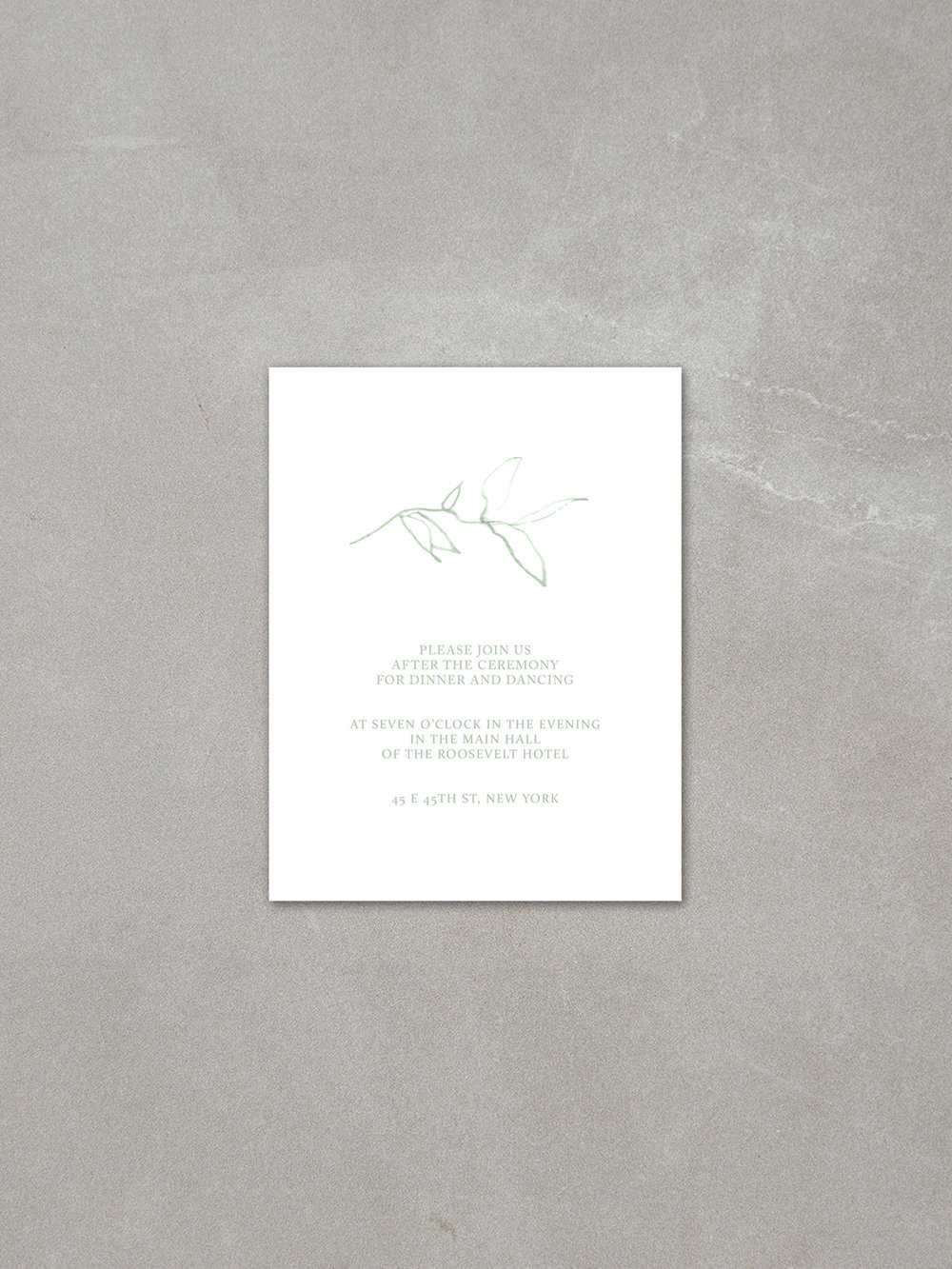 Elysian // Details Card in cement