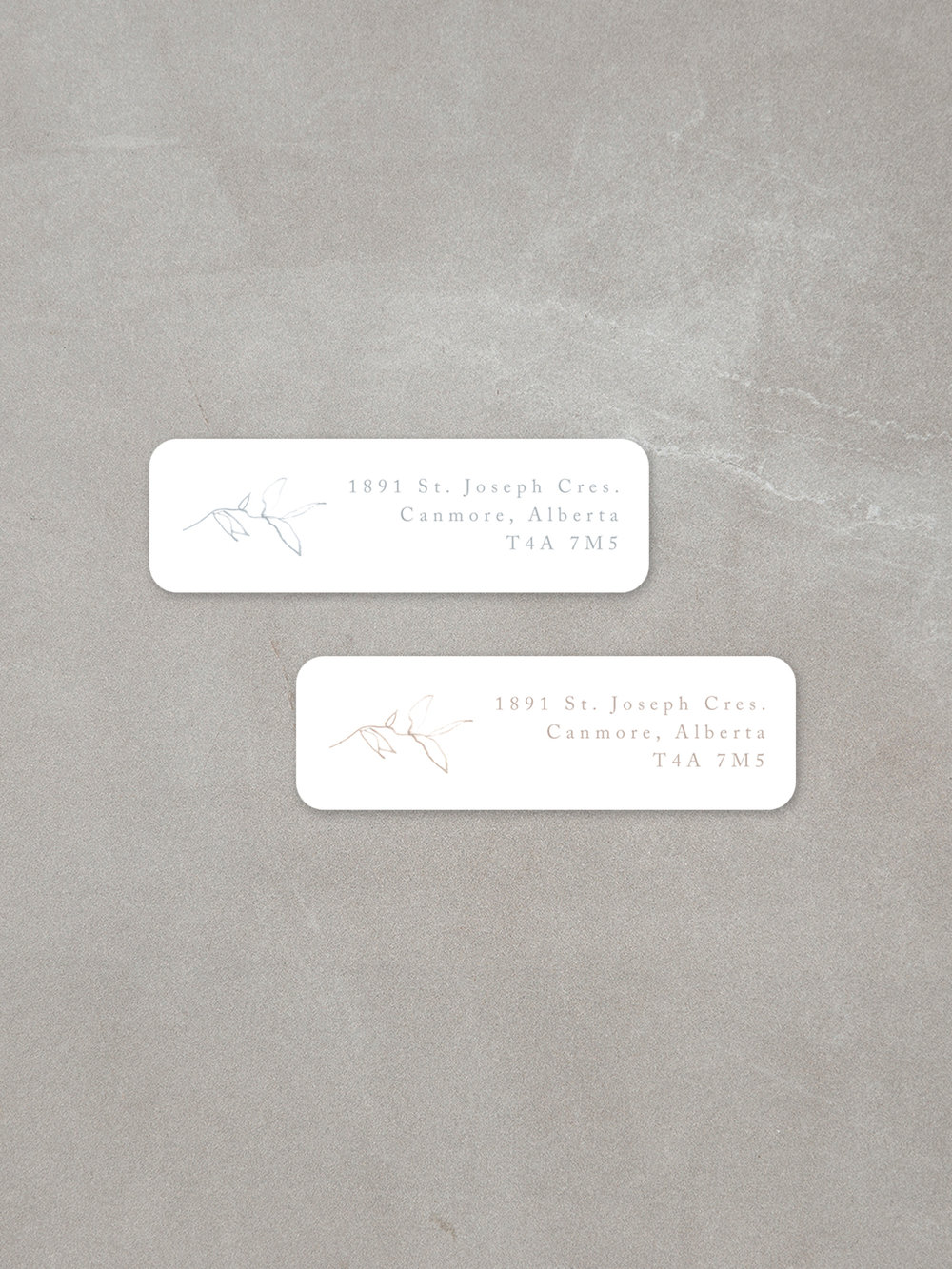 Elysian Addition // Return Address Labels