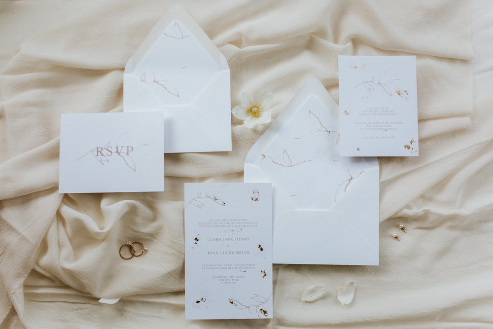 Elysian Semi Custom Wedding Invitations