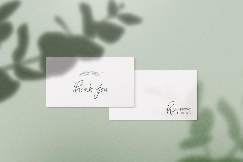 Hen and Chicks // Logo Design // Bexley Design Co Branding