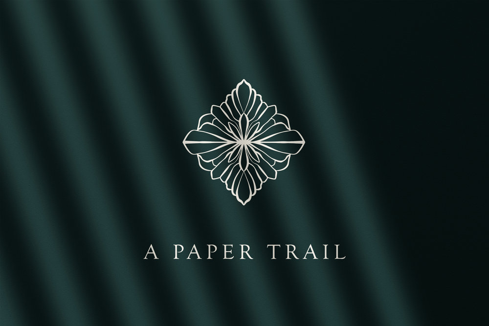A Paper Trail // Logo Design // Bexley Design Co Branding