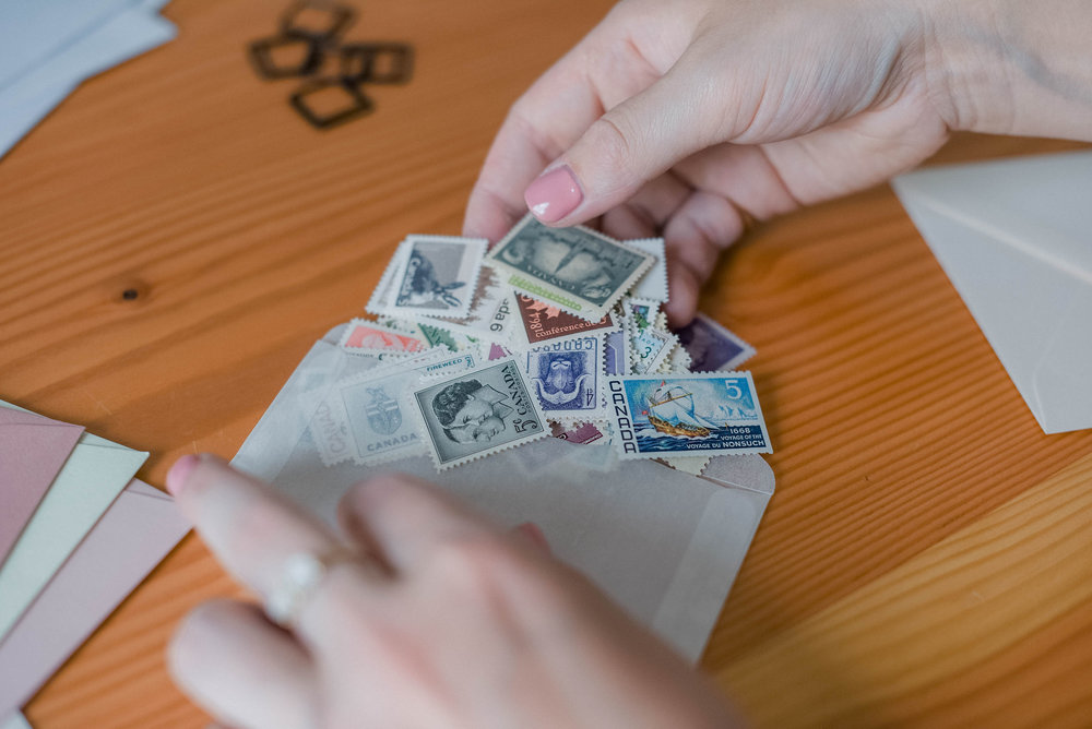 5 Helpful Tips on Using Vintage Postage Stamps   On the Bexley Blog