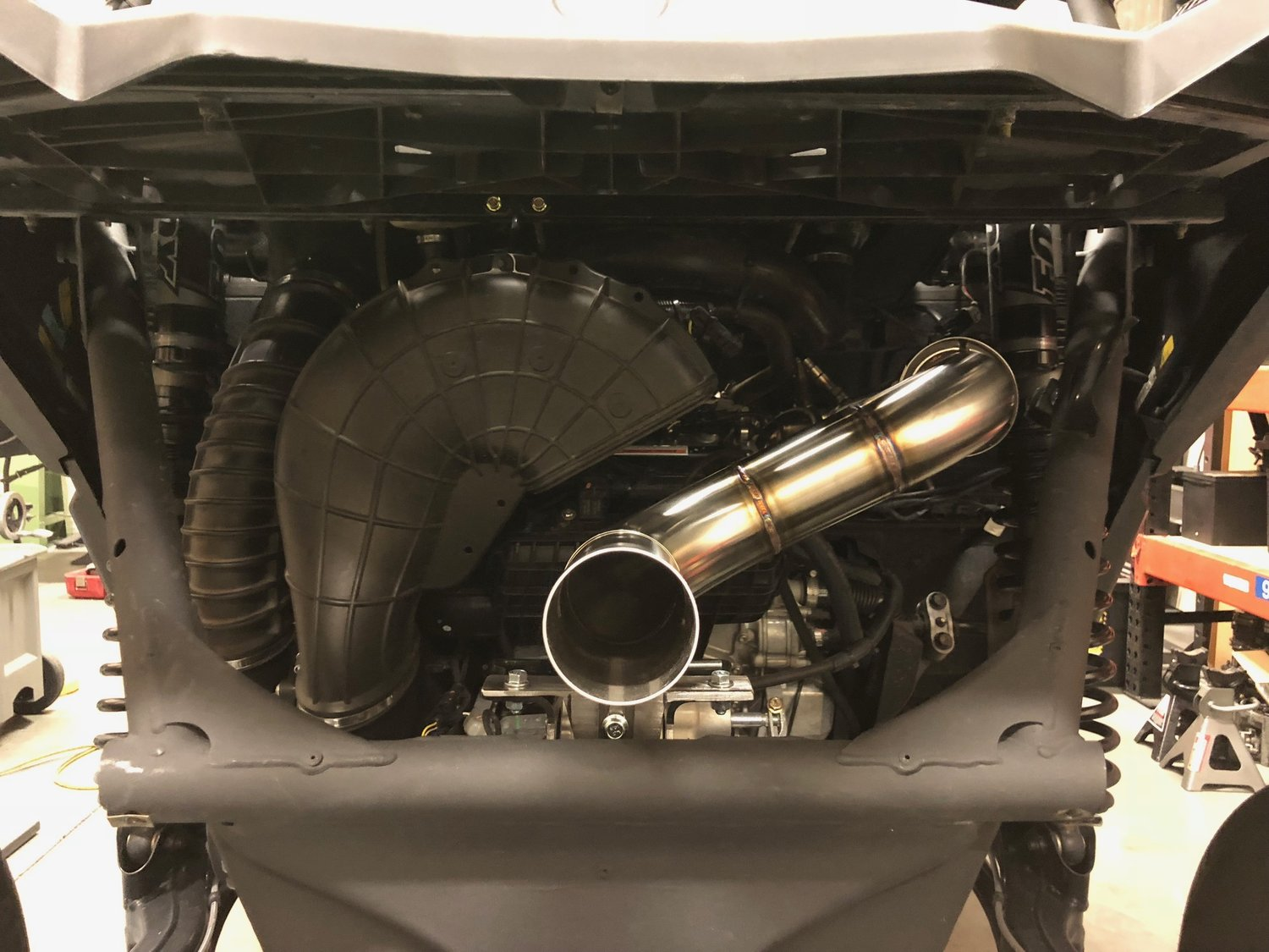 TREAL PERFORMANCE EXHAUST X3 STAGE 3 PERFORMANCE PACKAGE: RACE EXHAUST