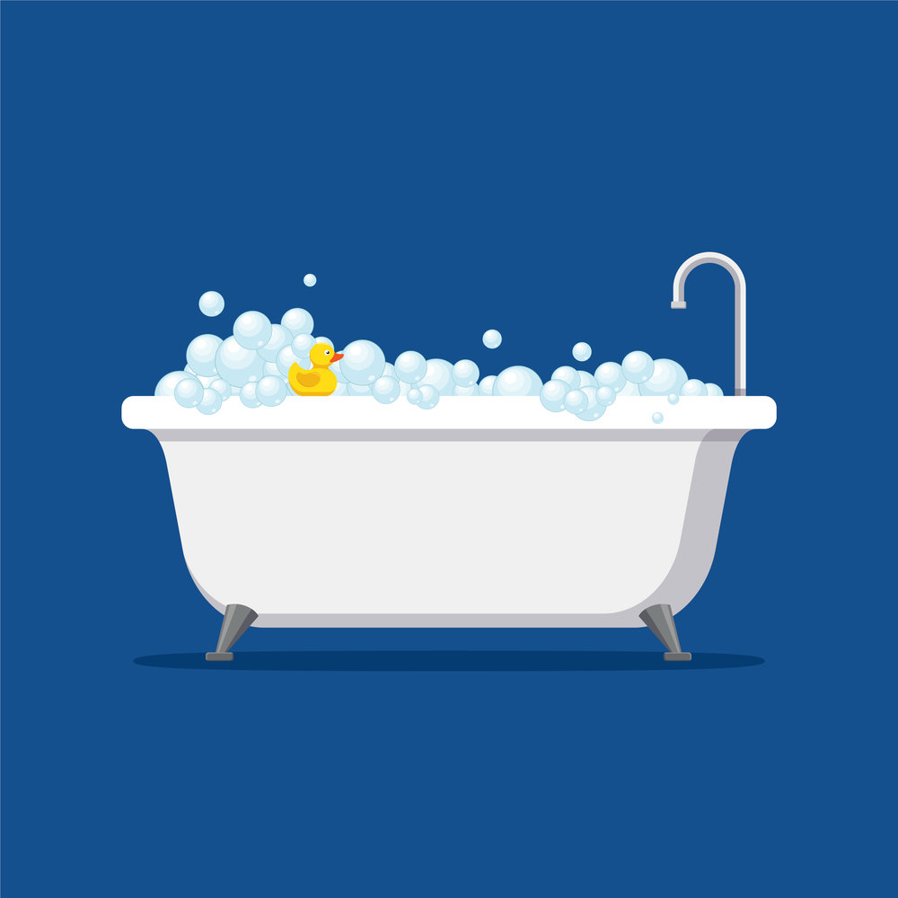 Bobby\'s Bubbler Bath — Ruth Holmes - Children\'s Short Story Author