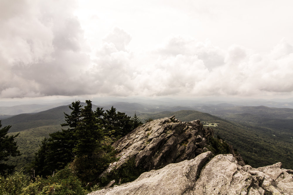 Grandfather Mountain Overlook Clouds