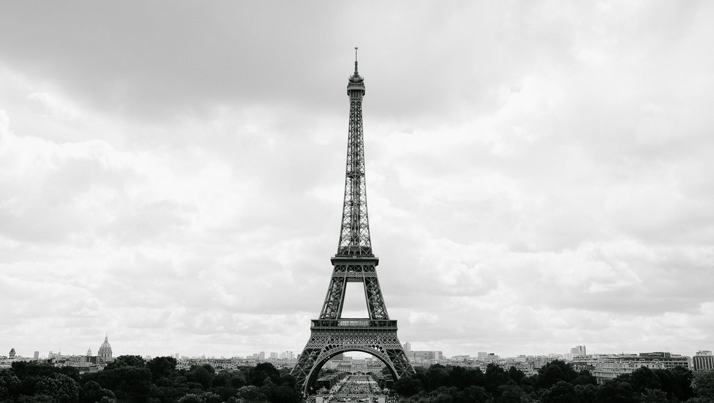 View of The Eiffel Tower from the Trocadero