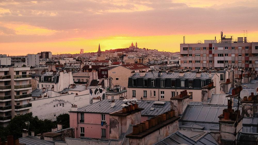 View from Le Perchoir bar