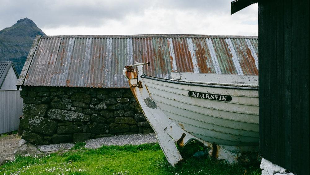 A boat in Klaksvik