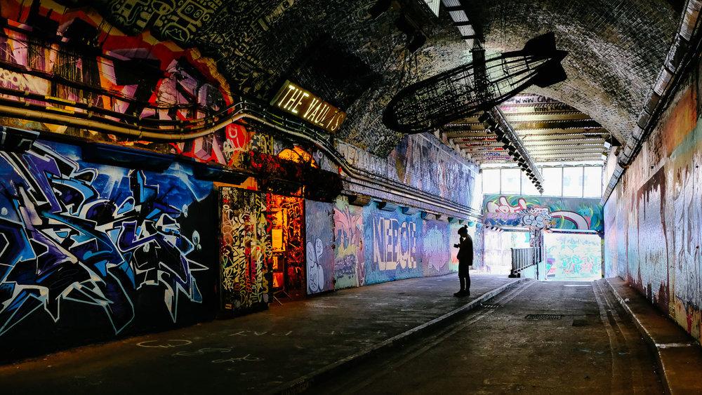 Leak Street tunnel