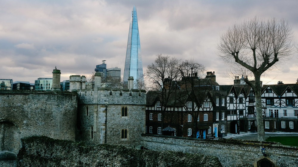 The Shard & Tower of London