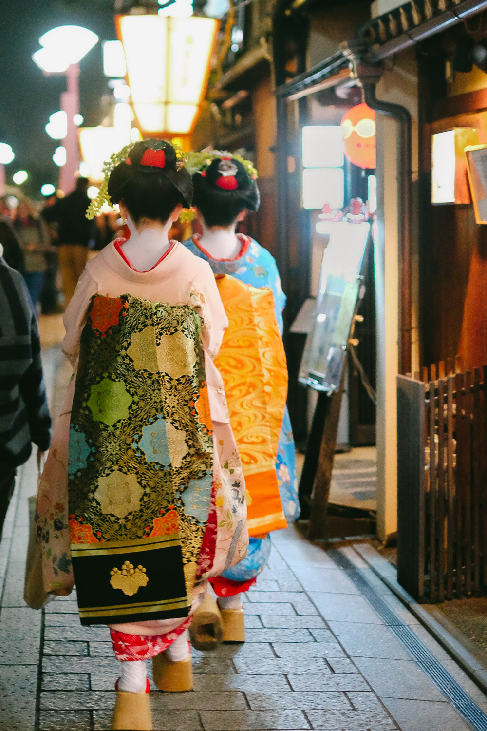 Maiko in Gion district of Kyoto