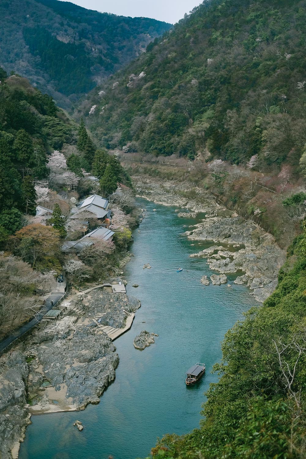 Ōi River in Arashiyama