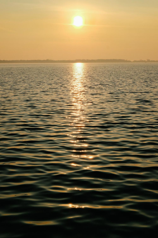 Lake Ontario at sunset