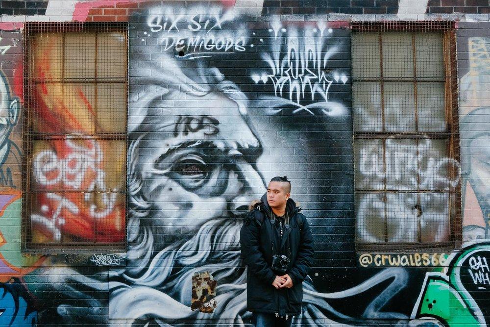 Graffiti Alley street art