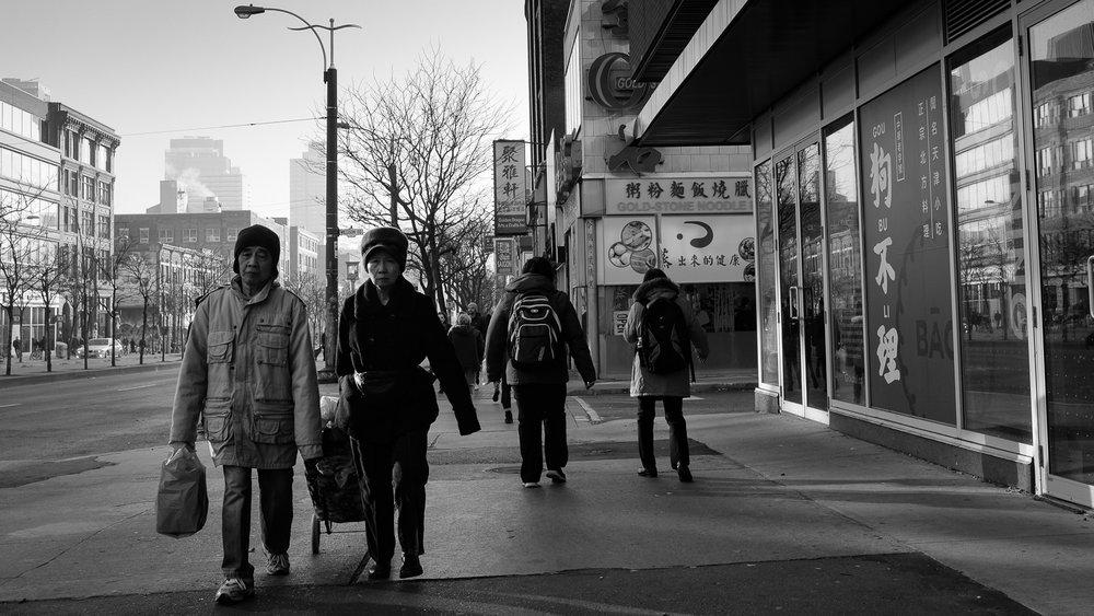Walking through China Town