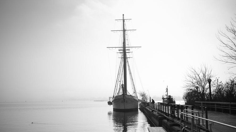 The Empire Sandy tall ship