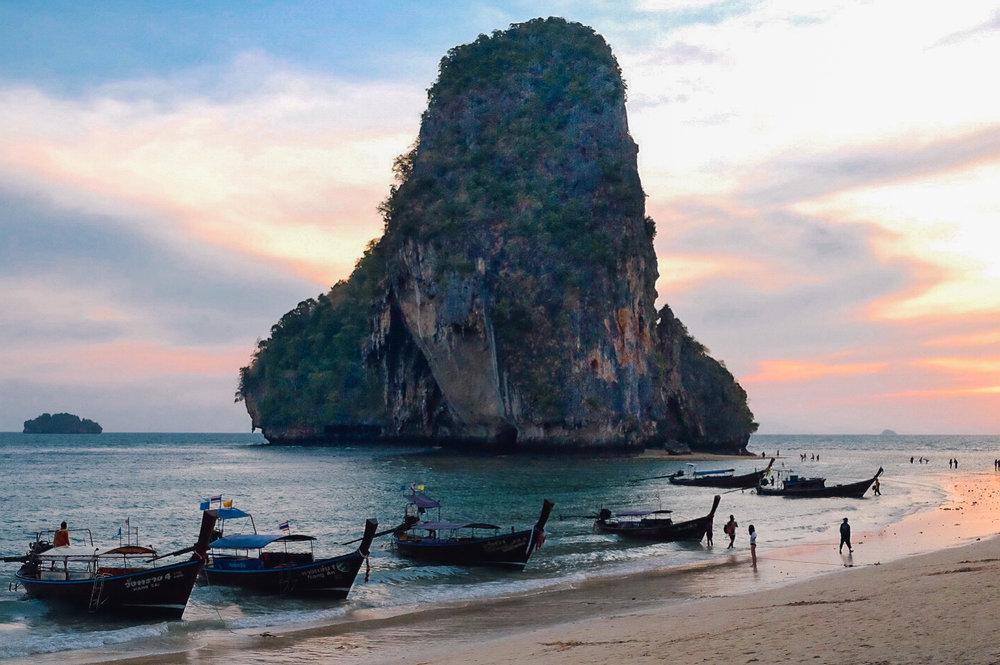 Phra Nang Cave Beach in Krabi
