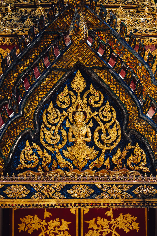 Intricate Thai details