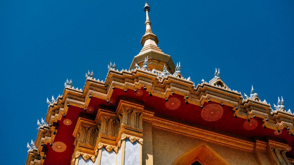 Phra Maha Mondop Phutthabat in Pattaya