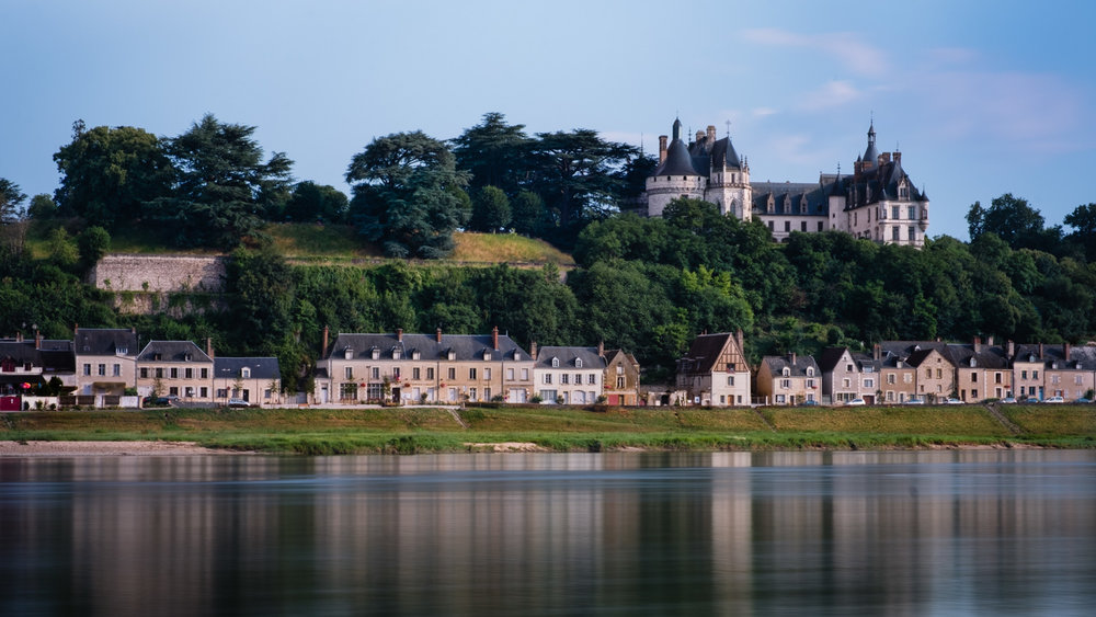 Chateau de Chaumont from across the Loire River