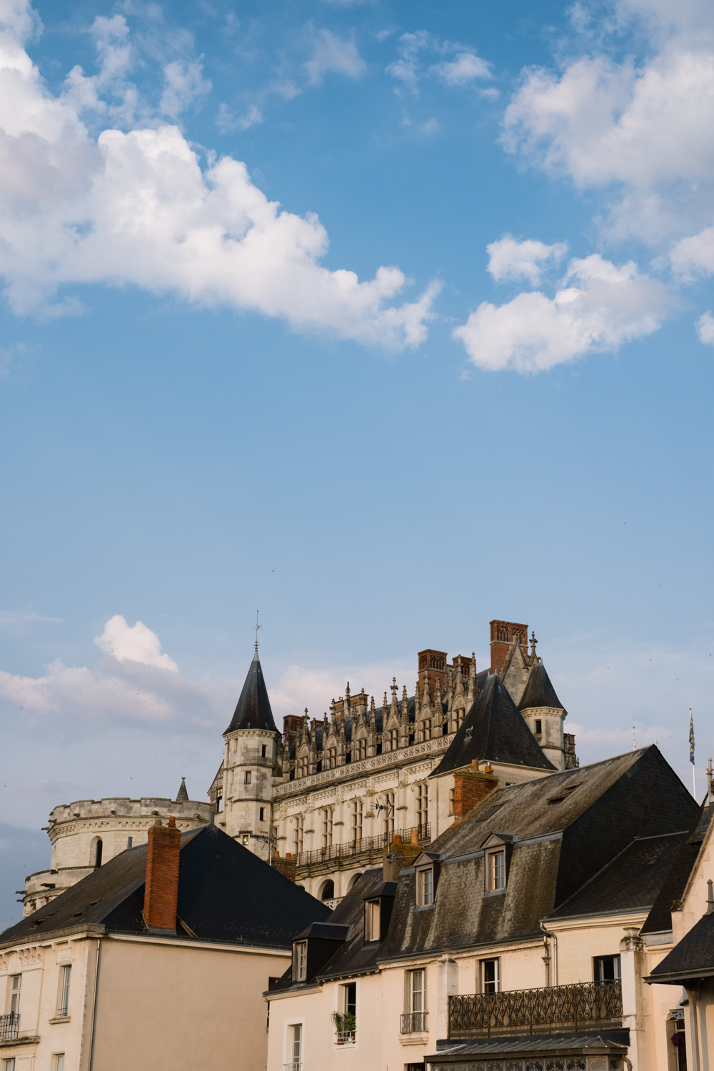 Top of the Château d'Amboise