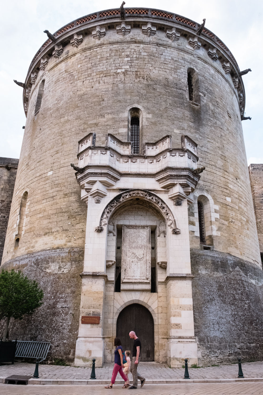 A tower of the château d'Amboise