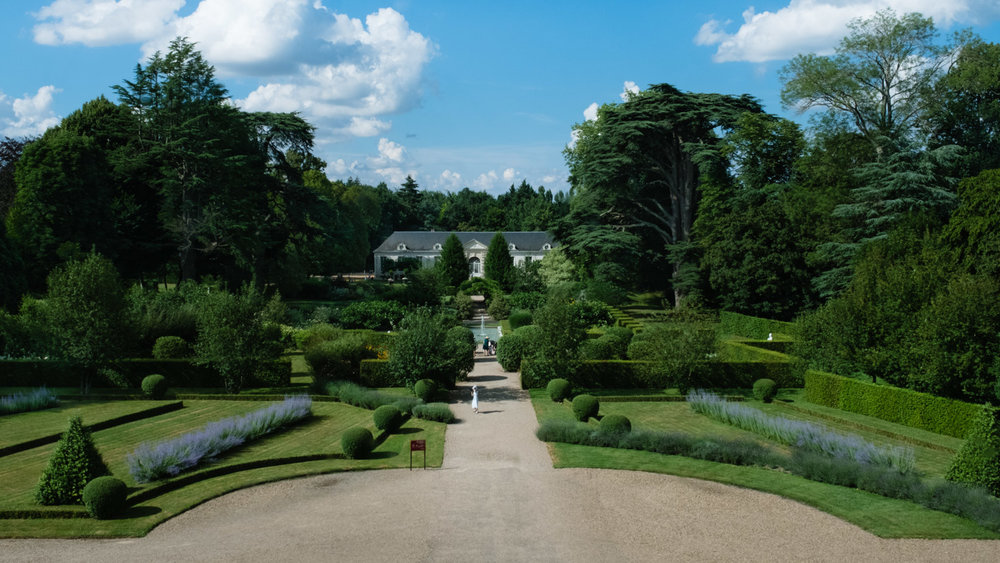 The gardens of Château de Cheverny