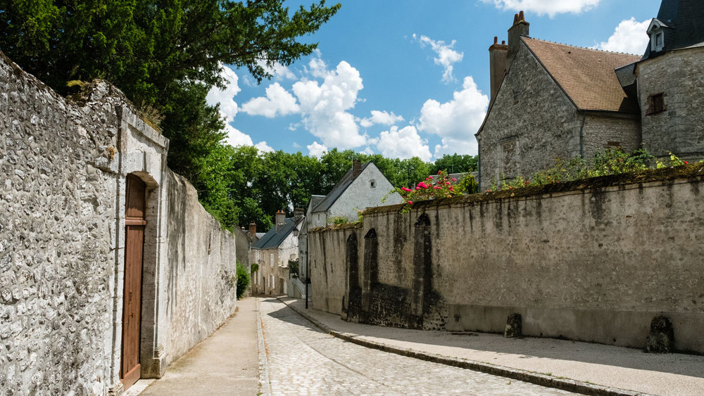 A road in Beaugency