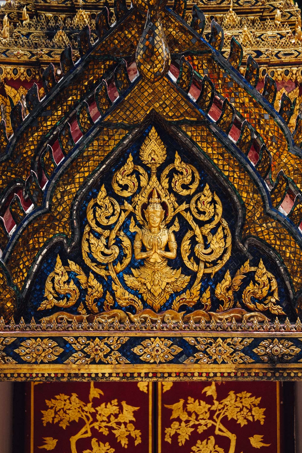 Intricate Thai details